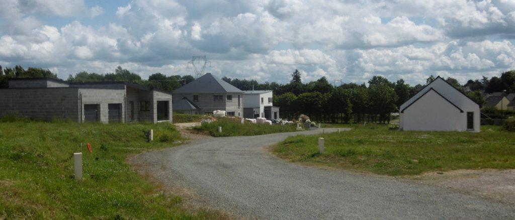 construction maison lotissement plumaugat
